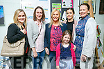 At the Castleisland Community College 30th celebration on Friday were Sandra Doyle, Mary Nolan, Joanne Downey, Ella O'Connell, Fiona O'Connor, Jackie O'Connell