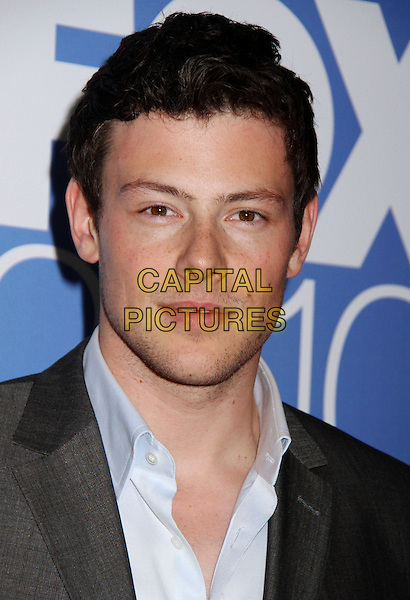 13 July 2013 - Vancouver, British Colombia, Canada - Glee star Cory Monteith was found dead Saturday in his hotel room at the Fairmont Pacific Rim Hotel in Vancouver. He was 31. The cause of death was not immediately apparent. An autopsy was set for Monday. According to police, there were no indications of foul play. They would not discuss what, if anything, was found in room. File Photo: 17 May 2010 - New York, NY - Cory Monteith. 2010 FOX UpFront After Party held at New York State Supreme Court held at Wollman Rink, Central Park. <br /> CAP/ADM/AC<br /> &copy;Alex Cole/AdMedia/Capital Pictures