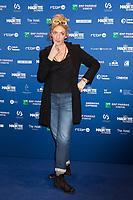 Corinne Masiero lors de la 9ème Cérémonie des Magritte du Cinéma, qui récompense le septième art belge, au Square, à Bruxelles.<br /> Belgique, Bruxelles, 2 février 2019.<br /> Actress Corinne Masiero pictured during the 9th edition of the Magritte du Cinema awards ceremony, <br /> Belgium, Brussels, 2 February 2019.