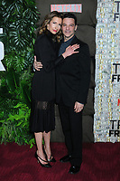 03 March 2019 - New York, New York - Alysia Reiner and David Alan Basche. The World Premiere of &quot;Triple Frontier&quot; at Jazz at Lincoln Center. <br /> CAP/ADM/LJ<br /> &copy;LJ/ADM/Capital Pictures