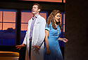 Waitress.A Musical. Music and Lyrics by Sara Bareilles,Book by Jessie Nelson, Based on the movie written by Adrienne Shelly. Directed by Diane Paulus.With Katherine McPhee as Jenna, David Hunter as Dr Pomatter. Opens at The Adelphi Theatre on 7/3/19 pic Geraint Lewis EDITORIAL USE ONLY