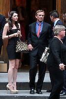 June 30, 2012  Robert Kenndy Jr., Kyra Kennedy,  attend the Alec Baldwin and Hilaria Thomas Wedding Day at Basilica of St. Patrick's Old Cathedral in Little Italy in New York City.Credit:© RW/MediaPunch Inc. /*NORTEPHOTO.COM*<br /> *SOLO*VENTA*EN*MEXiCO* *CREDITO*OBLIGATORIO** *No*Venta*A*Terceros* *No*Sale*So*third* ***No Se*Permite*Hacer*Archivo** *No*Sale*So*third*©Imagenes con derechos de autor,©todos reservados. El uso de las imagenes está sujeta de pago a nortephoto.com El uso no autorizado de esta imagen en cualquier materia está sujeta a una pena de tasa de 2 veces a la normal. Para más información: nortephoto@gmail.com* nortephoto.com.