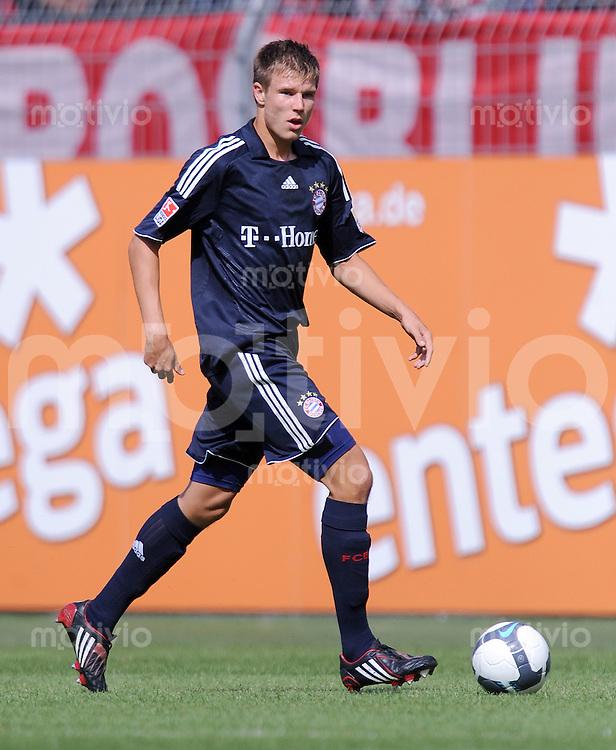 1. Fussball Bundesliga  Saison  2009/2010   3 Spieltag  22.08..2009 1 FSV Mainz 05 - FC Bayern Muenchen Holger Badstuber (FCB)