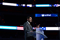 Washington, DC - March 27, 2017: Speaker of the U.S. House of Representatives Paul Ryan addresses attendees of the AIPAC Policy Conference March 27, 2017 at the Verizon Center in the District of Columbia. (Photo by Don Baxter/Media Images International)