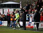 Paul Coutts of Sheffield Utd comes on at the start of the second half  - English League One - Fleetwood Town vs Sheffield Utd - Highbury Stadium - Fleetwood - England - 5rd March 2016 - Picture Simon Bellis/Sportimage