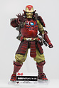 An action figure of Iron Man Samurai on display at the 56th All Japan Model & Hobby Show in Tokyo Big Sight on September 25, 2016. The exhibition introduced hobby goods such as plastic models, action figures, drones, and airsoft guns. (Photo by Rodrigo Reyes Marin/AFLO)