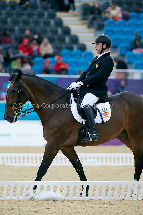 London Paralympic Games 30.8.12 Equestrian