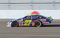 Feb 29, 2008; Las Vegas, NV, USA; Nascar Nationwide Series driver Brad Coleman during practice for the Sams Town 300 at the Las Vegas Motor Speedway. Mandatory Credit: Mark J. Rebilas-