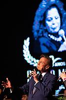 SAO PAULO, SP, 15.07.2019 - SHOW SP - <br /> Agnaldo Rayol durante show em homenagem a cantora Ângela Maria, que faria 90 anos em 2019, no teatro Procópio Ferreira, região central de São Paulo na noite desta segunda-feira, 15.(Foto: Ciça Neder/Brazil Photo Press)