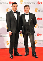 Ant &amp; Dec (Anthony McPartlin and Declan Donnelly) at the British Academy (BAFTA) Television Awards 2019, Royal Festival Hall, Southbank Centre, Belvedere Road, London, England, UK, on Sunday 12th May 2019.<br /> CAP/CAN<br /> &copy;CAN/Capital Pictures