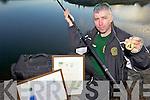 AWARD: Irish U-16 international fishing coach, Philip O'Sullivan from Tralee who was honoured for his contribution to coaching in Dublin last week.