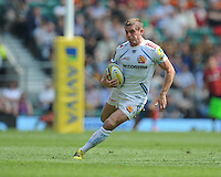 Gareth Steenson of Exeter Chiefs in action during the Aviva Premiership Rugby Final between Saracens and Exeter Chiefs at Twickenham Stadium on Saturday 28th May 2016 (Photo: Rob Munro/Stewart Communications)