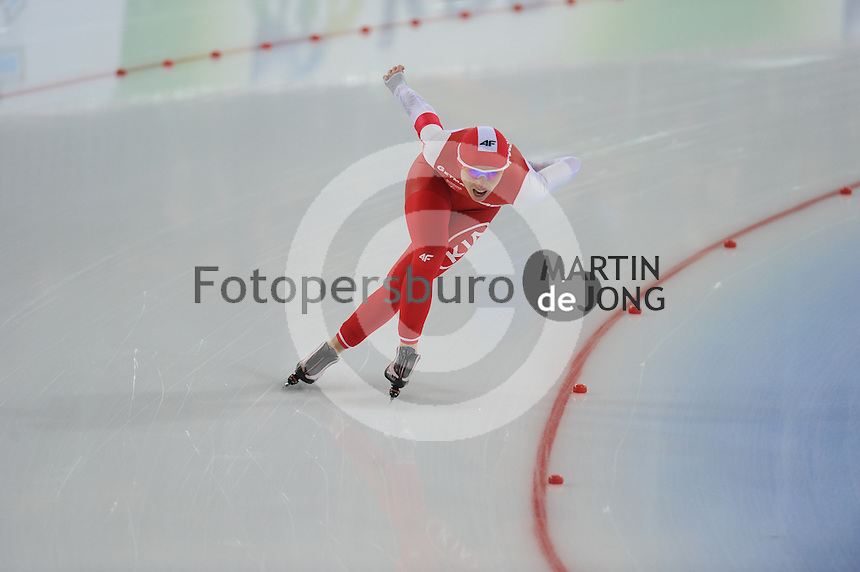 SPEED SKATING: HAMAR: Vikingskipet, 04-03-2017, ISU World Championship Allround, 3000m Ladies, Luiza Zlotkowska (POL), ©photo Martin de Jong