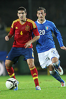 "Oriol.Siena 13/11/2012 Stadio ""Franchi"".Football Calcio Nazionale U21.Italia v Spagna.Foto Insidefoto Paolo Nucci."