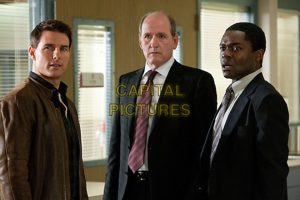 Tom Cruise, Richard Jenkins & David Oyelowo.in Jack Reacher (2012).*Filmstill - Editorial Use Only*.CAP/FB.Supplied by Capital Pictures.