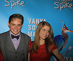 "As The World Turns Billy Magnussen and Genevieve Angelson star iin Broadway's ""Vanya and Sonia and Masha and Spike"" which had its opening night on March 14, 2013 at the Golden Theatre, New York City, New York.  (Photo by Sue Coflin/Max Photos)"