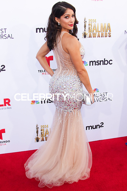 PASADENA, CA, USA - OCTOBER 10: Valery Ortiz arrives at the 2014 NCLR ALMA Awards held at the Pasadena Civic Auditorium on October 10, 2014 in Pasadena, California, United States. (Photo by Celebrity Monitor)