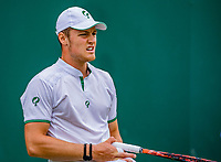 London, England, 10 th. July, 2018, Tennis,  Wimbledon, Junior boys: Deney Wassermann (NED)<br /> Photo: Henk Koster/tennisimages.com