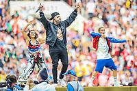 MOSCOU, RUSSIA, 15.07.2018 - FRANCA-CROACIA - Nicky Jam darante cerimonia de encerramento da Copa do Mundo da Russia no Estádio Luzhnikina cidade de Moscou na Russia neste domingo, 15. ( (Foto: William Volcov/Brazil Photo Press)