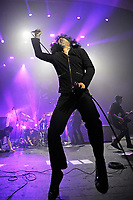 LONDON, ENGLAND - MARCH 9: Cedric Bixler-Zavala of 'At The Drive In' performing at Brixton Academy on March 9, 2018 in London, England.<br /> CAP/MAR<br /> &copy;MAR/Capital Pictures