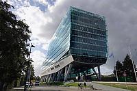 Nederland  Amsterdam -  September 2018. De Zuidas. Kantoor van Lexence. Advocaten en Notarissen.  Foto Berlinda van Dam / Hollandse Hoogte