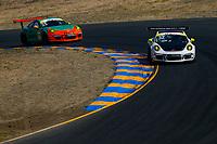 Porsche GT3 Cup Challenge USA<br /> Sonoma Raceway<br /> Sonoma Raceway, Sonoma, CA USA<br /> Sunday 17 September 2017<br /> 32, Mark Nelson, GT3G, USA, 2014 Porsche 991<br /> World Copyright: Jake Galstad<br /> LAT Images
