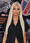 """PiaMia - Recording artist 011 arrives for the premiere of Sony Pictures' """"Spider-Man Far From Home"""" held at TCL Chinese Theatre on June 26, 2019 in Hollywood, California"""