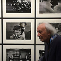 Il mondo a modo suo, William Klein exhibition at Palazzo della Ragione, Milan June 16, 2016. William Klein, 88, artist and photographer. © Carlo Cerchioli