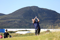 Richard Sleator playing with Kiradech Aphibarnrat (THA) during the ProAm of the 2018 Dubai Duty Free Irish Open, Ballyliffin Golf Club, Ballyliffin, Co Donegal, Ireland.<br /> Picture: Golffile | Jenny Matthews<br /> <br /> <br /> All photo usage must carry mandatory copyright credit (&copy; Golffile | Jenny Matthews)