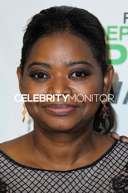 SANTA MONICA, CA, USA - MARCH 01: Octavia Spencer in the press room during the 2014 Film Independent Spirit Awards held at Santa Monica Beach on March 1, 2014 in Santa Monica, California, United States. (Photo by Xavier Collin/Celebrity Monitor)