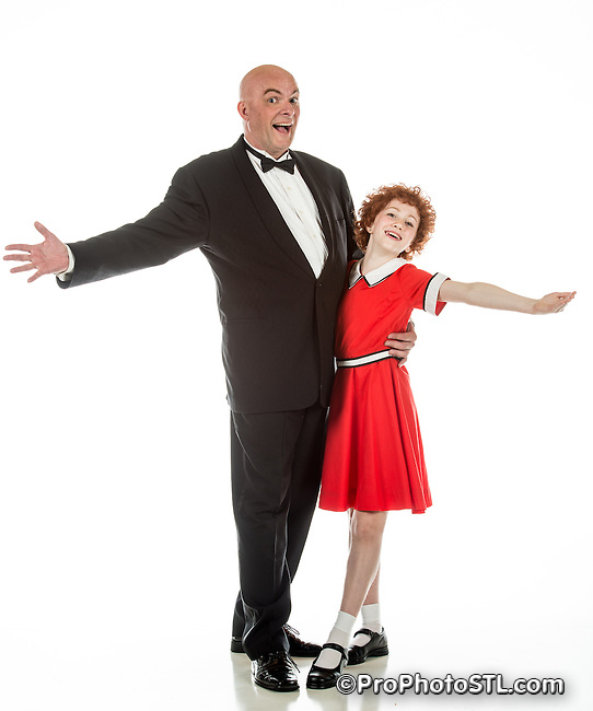"Publicity images for ""Annie"" presented by Variety - Children's Charity of St. Louis"
