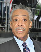"""Washington, DC - May 16, 2009 -- Rev. Al Sharpton, President of National Action Network and Education Equality Project (EEP) co-founder, answers a reporter's question at the """"Close the Gap: Education Equality Day"""" on the White House Ellipse in Washington, D.C. on Saturday, May 16, 2009..Credit: Ron Sachs / CNP.(RESTRICTION: NO New York or New Jersey Newspapers or newspapers within a 75 mile radius of New York City)"""
