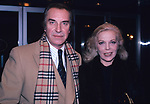 Martin Landau and Barbara Bain photographed in New York City in 1981.