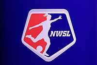 NWSL logo during the NWSL College Draft Baltimore 2020