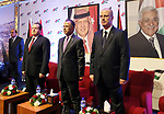 Palestinian Prime Minister Rami Hamdallah attends the ceremony of the seventy-first anniversary of the independence of the Kingdom of Jordan, in the West Bank city of Ramallah on May 25, 2017. Photo by Prime Minister Office