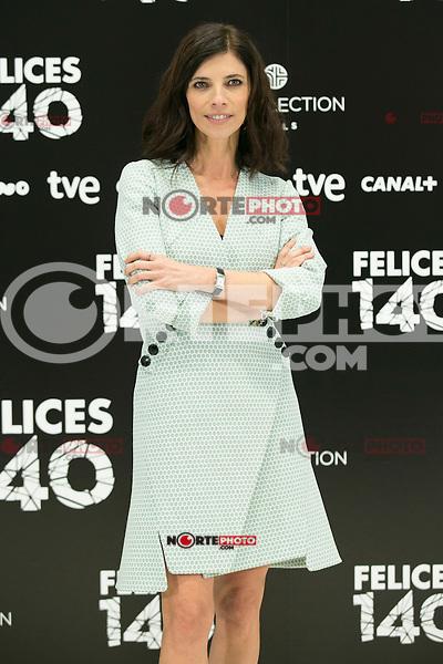 """Maribel Verdu attend the Presentation of """"Happy 140"""" (Felices 140) Movie at Eurobuilding Hotel, Madrid,  Spain. April 07, 2015.(ALTERPHOTOS/)Carlos Dafonte) /NORTEphoto.com"""