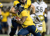 C.J. Anderson of California runs the ball during the game against UCLA at Memorial Stadium in Berkeley, California on October 6th, 2012.  California defeated UCLA, 43-17.