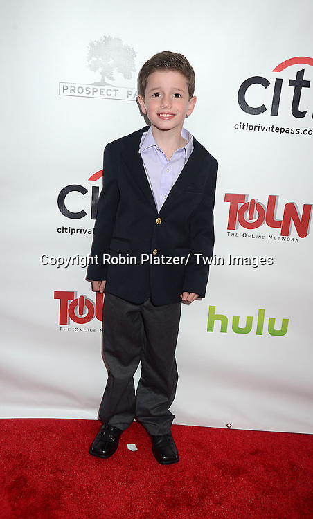 """Patrick Gibbons, Jr attends the New York Premiere of """"All My Children"""" and. """"One Life to Live """" on April 23, 2013 at NYU Skirball Theatre in New York City. Prospect Park is producing the shows and they will air on www.hulu.com starting on April 29, 2013."""