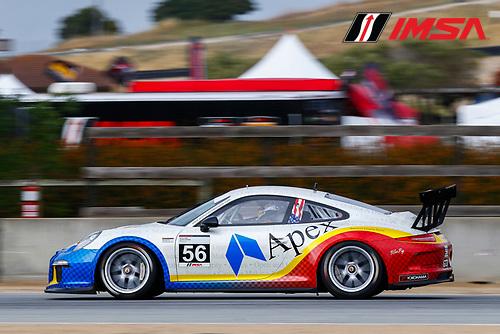 28-30 April, 2016, Monterey, California USA<br /> 56, David Baker, Platinum, M, 2016 Porsche<br /> &copy;2016, Jake Galstad<br /> LAT Photo USA