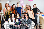 Mother to be Katie Horan, Killeen Tralee celebrates with family and friends at a Baby Shower at La Scala's on Saturday Front l-r Claire Jordan, Sarah Hobbert, Katie Horan, Nancy O Brien, Lucy O' Shea, Back l-r Emer Moriarty, Shauna O Shea, Yvonne Duggan,  Rita Malloy, Niamh O'Connor