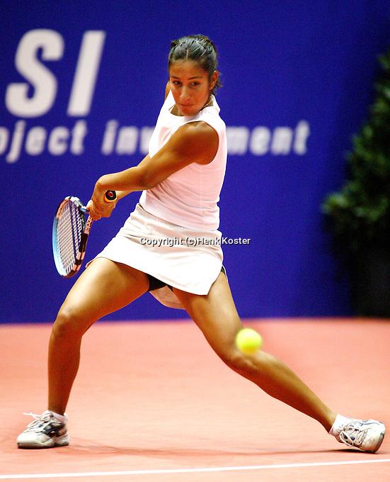 20031209, Rotterdam, LSI Masters,Elise Tamaela in haar partij tegen Jolanda Mens