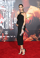 LOS ANGELES, CA - NOVEMBER 13: Nicole Trunfio, at the Justice League film Premiere on November 13, 2017 at the Dolby Theatre in Los Angeles, California. Credit: Faye Sadou/MediaPunch