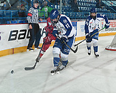 Sudbury, ON - April 27 2018 - Game 15 - Toronto Young Nationals vs Sudbury Nickel Capital Wolves at the 2018 TELUS Cup at the Sudbury Community Arena in Sudbury, Ontario, Canada (Photo: Matthew Murnaghan/Hockey Canada)