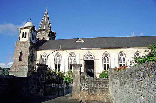 The Catholic Cathedral of Our Lady of Fair Haven in Roseau Dominica