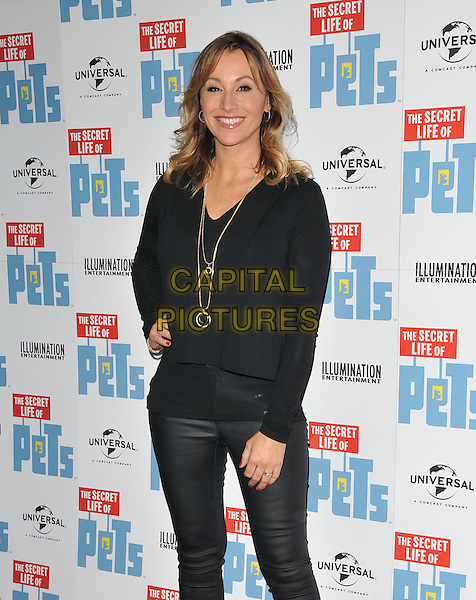 Sophie Blake at the &quot;The Secret Life of Pets&quot; UK 'Petmiere', Prince Charles cinema, Leicester Place, London, England, UK, on Saturday 12 November 2016. <br /> CAP/CAN<br /> &copy;CAN/Capital Pictures