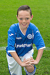 St Johnstone FC Academy Under 14's<br /> Kyle Burns<br /> Picture by Graeme Hart.<br /> Copyright Perthshire Picture Agency<br /> Tel: 01738 623350  Mobile: 07990 594431