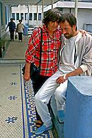 Paciente aidético no Hospital Emilio Ribas. São Paulo. 1988. Foto de Juca Martins.