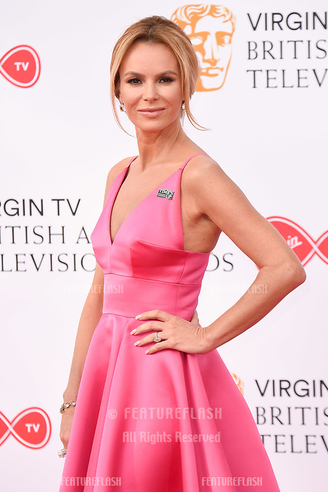 Amanda Holden arriving for the BAFTA TV Awards 2018 at the Royal Festival Hall, London, UK. <br /> 13 May  2018<br /> Picture: Steve Vas/Featureflash/SilverHub 0208 004 5359 sales@silverhubmedia.com