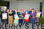 CHOIRS: Choirs from around Kerry will gather at St Our Lady's and St Brendan's Church on Sunday October 19 2008 to mark World Mental Health Day which was launched on Monday at St Mary's and St Brendan's Church, Tralee. Front l-r: Kevin Woods, Mary Martin,Sr Patrice, Joan Doody, Hauley O'Connor, Renee Fitzgibbon and Brenda Healy. Back l-r: Colette Quinn, Fr David Gunn, Martina Egan, Bill Corcoran, Michael Fox O'Connor and Jim Fitzgibbon..........   Copyright Kerry's Eye 2008