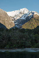 Mount Pembroke in Milford Sound, Fiordland National Park, Southland, UNESCO World Heritage Area, New Zealand, NZ